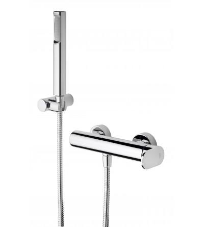 Mezclador para ducha con set de ducha Paffoni Candy CA168