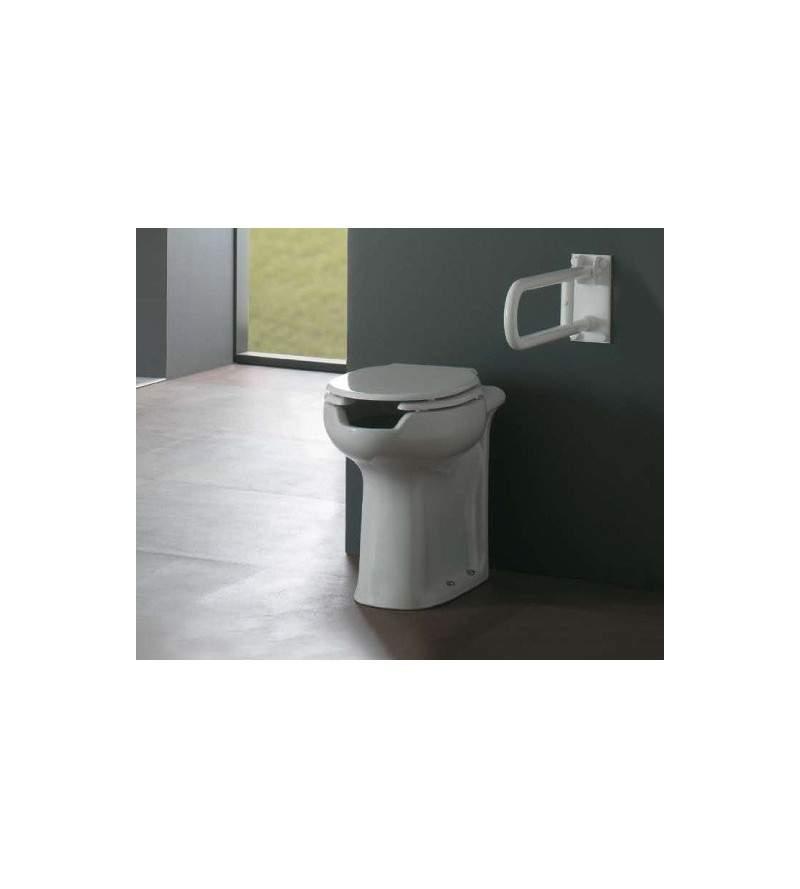 Floor mounted pan Ausilia...