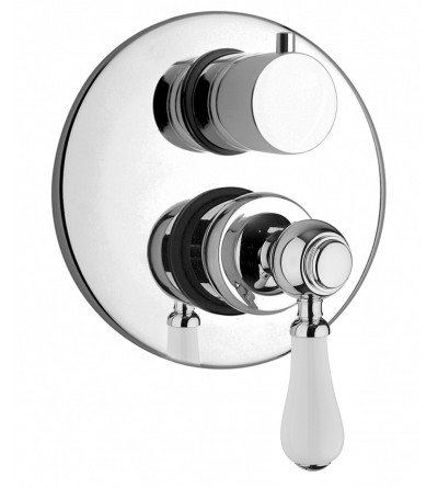 Single lever bath and shower mixer for concealed installation with 2 outlets diverter Jacuzzi Tosca 0TO00400JA00