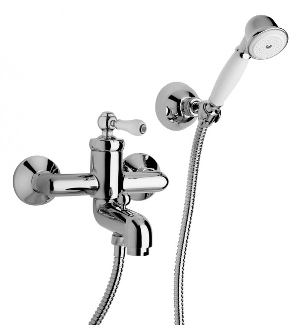 Exposed Bath Mixer With Shower Set Jacuzzi Tosca 0TO00003JA00. Loading Zoom
