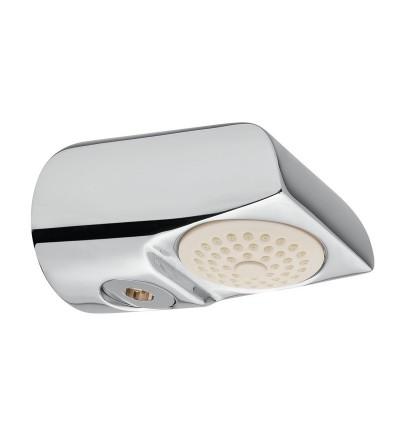 Soffione doccia a parete antivandalo con possibilità di alimentazione esterna Idral 09036