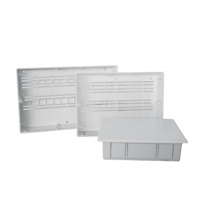 One-piece plastic mainfold box with  xing kit 320B