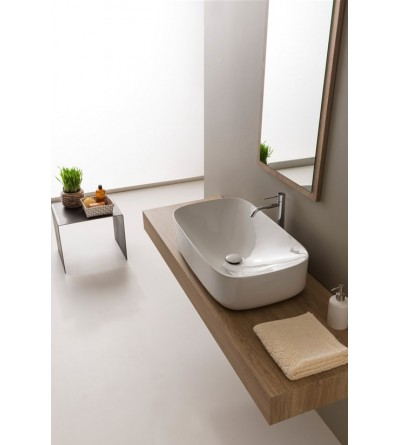 Lay-on washbasin Scarabeo Moon 70 H18 5502