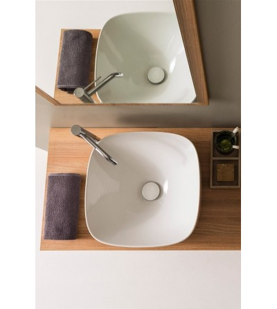 Lay-on washbasin Scarabeo Moon 42 H18 5501