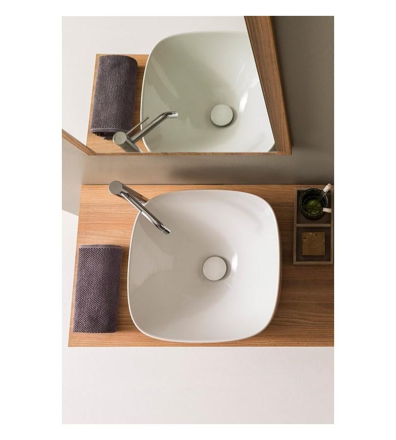 Lay-on washbasin Scarabeo Moon 42 5501