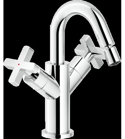 Mezclador para lavabo caño giratorio nobili Lira LR116219/2CR