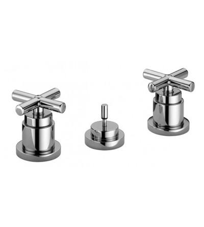 Three-holes bidet tap Paffoni Quattro QTV116