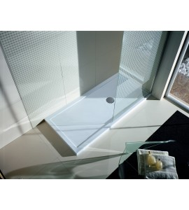 Rectangular shower tray H 4,5cm - Novellini olympic plus