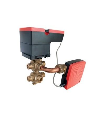 Six-way motorised zone valve Giacomini DX274