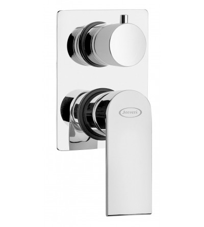 BUILT-IN SHOWER MIXER WITH AUTOMATIC DIVERTER JACUZZI TWILIGHT 0TI00400JA00