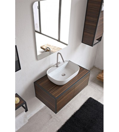 Lay-on washbasin Scarabeo Glam 56/R
