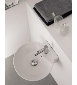 Lay-on or wall-mounted washbasin Scarabeo Sfera 8009/R