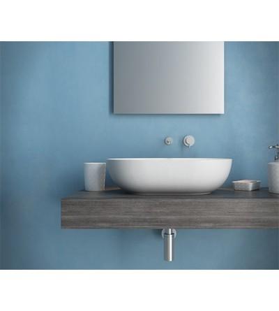 Lavabo installazione da appoggio ceramica Globo T-EDGE B6060