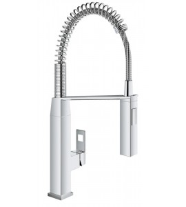 single lever kitchen mixer with professional spray Grohe Eurocube 31395000