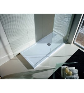 Rectangular shower tray H 12,5cm - Novellini olympic plus