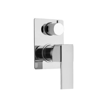 shower mixer for concealed installation with 2 outlets diverter Mamoli Feel 2849