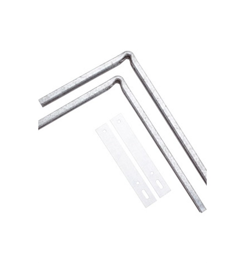 Staffe di montaggio bidet e WC Scarabeo 10005