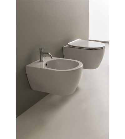 Wall mounted bidet Scarabeo MOON 5521