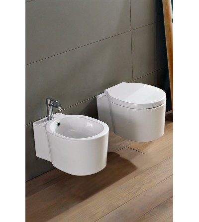 Wall mounted Wc Scarabeo BUCKET 8812