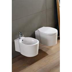 Wall-mounted WC Scarabeo...