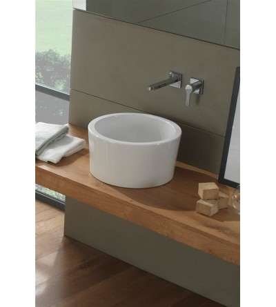 Lay-on washbasin 35 H22 Scarabeo BUCKET 8808