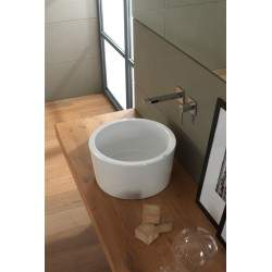 Lay-on washbasin 42 H42 Scarabeo BUCKET 8807