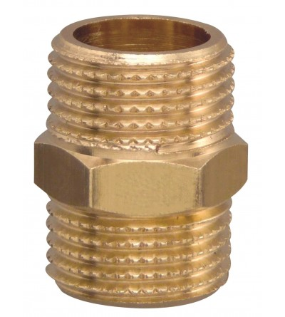 Brass Pipe Hex Nipple Fitting Quick Adapter FP Pattaroni F001