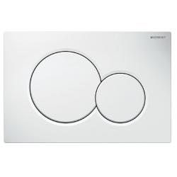 White flush plate for...