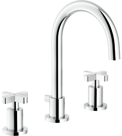 Three-holes basin tap Nobili spring SP57011 / 1CR