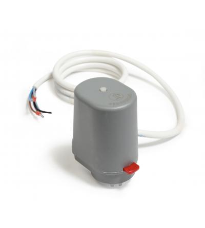 Testa elettrotermica normalmente chiusa con microinterruttore Giacomini R473M