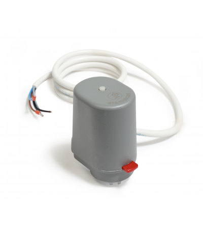 Thermo-electric actuator, normally closed, with microswitch Giacomini R473M