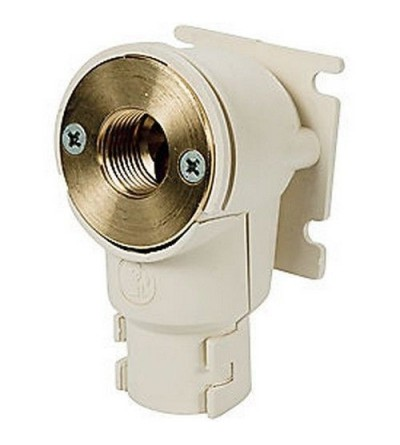 Angled fitting for domestic water systems Giacomini R573D-1