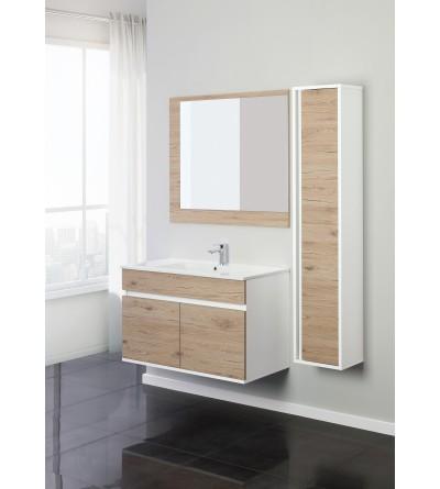 Mueble de baño suspendido 90 cm Feridras Fabula 801012