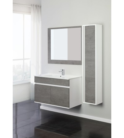 Mueble de baño suspendido 90 cm Feridras Fabula 801011