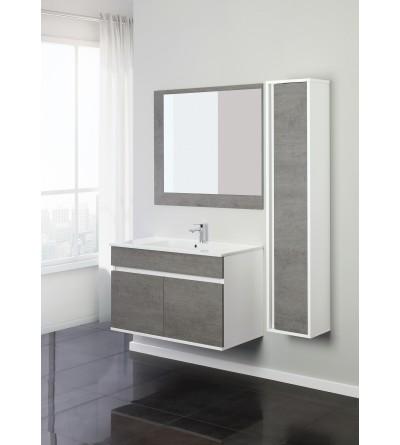 Suspended bathroom cabinet cm 90 Feridras fabula 801011