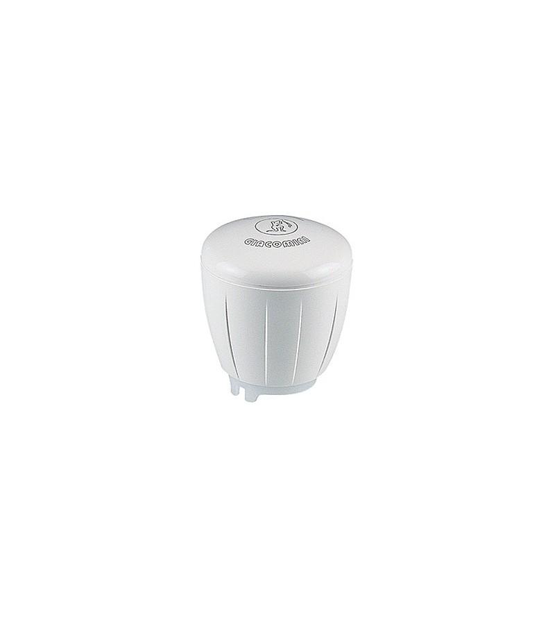 Micrometric handwheel for valves with thermostatic option Giacomini R450TG