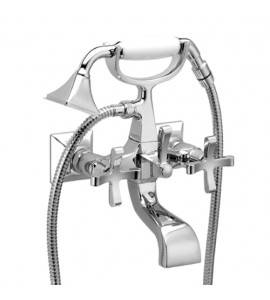 Bath/shower mixer with handshower and double seam flexible hose Effepi CHIC 7 CENTO Art.43004