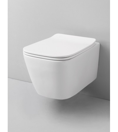 Wall-Hung Wc no Rim The Artceram A16 mini ASV005
