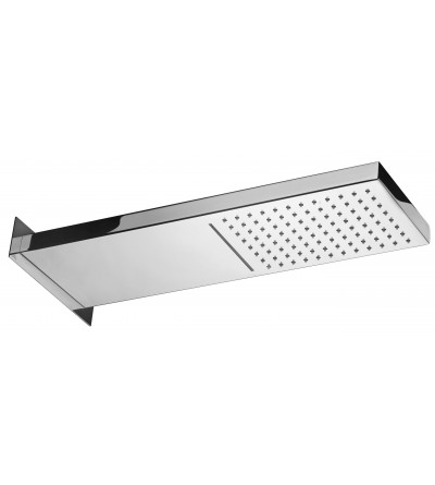 Rectangular shower head Paffoni CASCADE ZSOF099CR