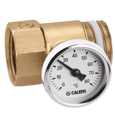 Raccordo portatermometro per collettori serie 592 e 350 Caleffi 392