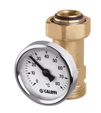 Raccordo portatermometro. Per derivazioni collettori Caleffi 657