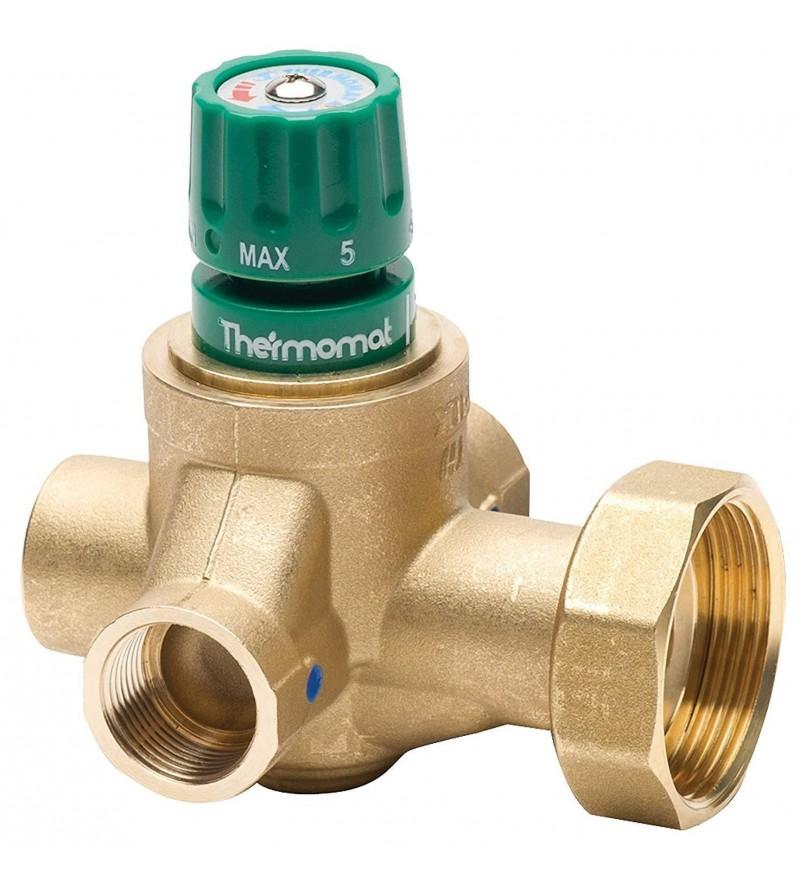 Miscelatore Riscaldamento con Dado per Attacco Pompa Thermomat TMR34F4VCD