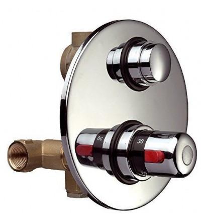 Grifo temporizado con mezclador termostático Thermomat RUTP1404GMTC