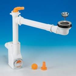Space saving siphon kit for...
