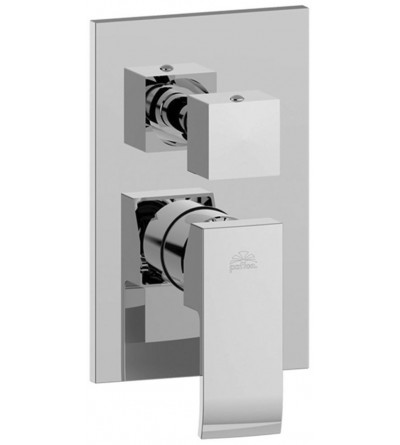 Concealed shower mixer Paffoni Level LEA019