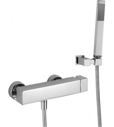 Shower mixer extern Paffoni LEVEL LEC/LEA168D