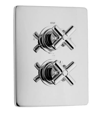 Parte termostática incorporada de la ducha Huber Suite SU01810021