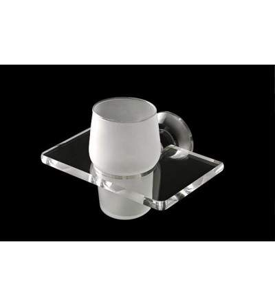 Wall-mounted toothbrush holder TL.Bath Luce L102/C