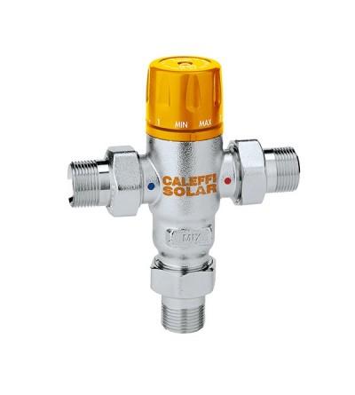 Miscelatore termostatico regolabile per impianti solari Caleffi 2521