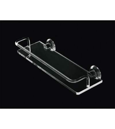 Shelf with plexiglass railing TL.Bath Luce L011-L013